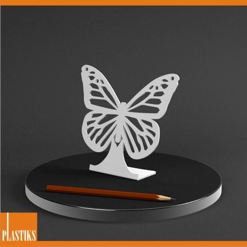Pr sentoir pour les boucles d oreilles en forme papillon - Presentoir pour boucle d oreille ...