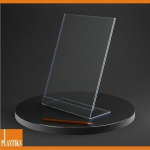 Porte-visuel plexi incliné A4